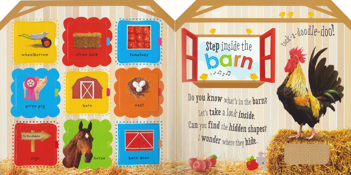 Touch, Slide, and Lift Busy Farm (Scholastic Early Learners) [1]