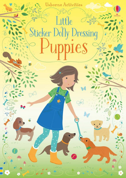 Little Sticker Dolly Dressing Puppies 0