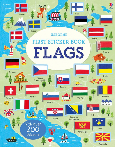 First Sticker Book Flags 0