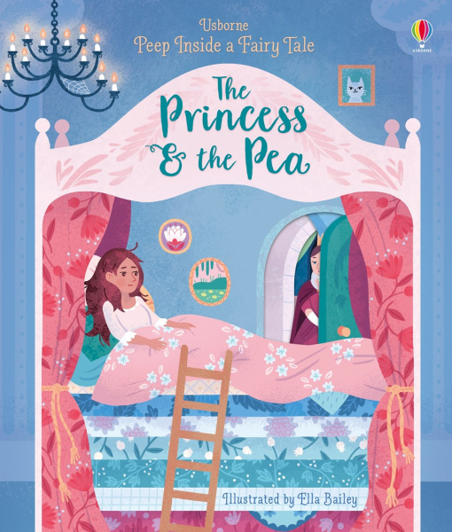Peep inside a fairy tale Princess and the Pea 0
