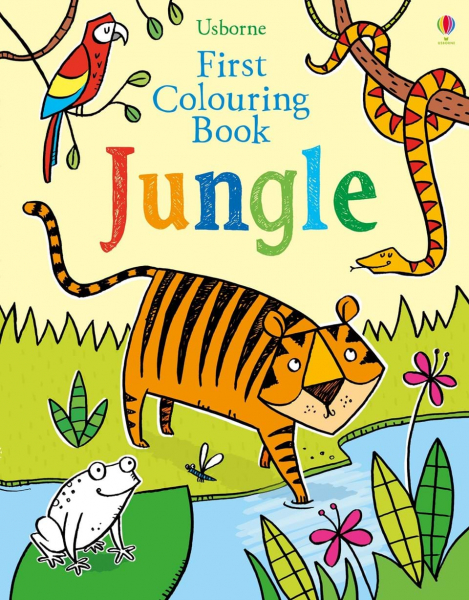 First Colouring Book Jungle 0