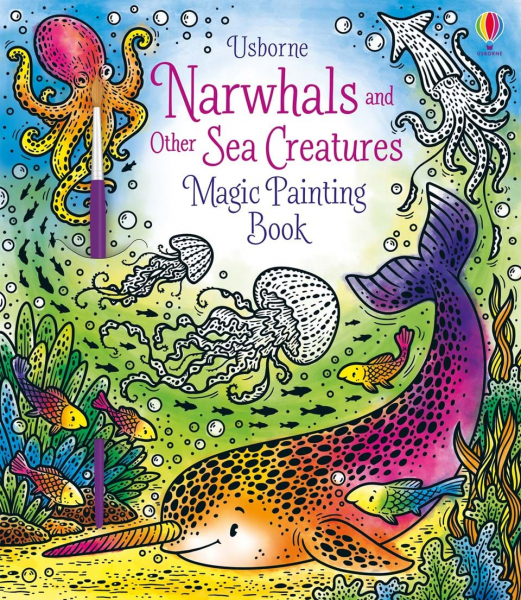 Magic Painting Narwhals and Other Sea Creatures 0