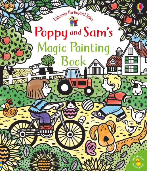 Poppy and Sam's Magic Painting Book 0