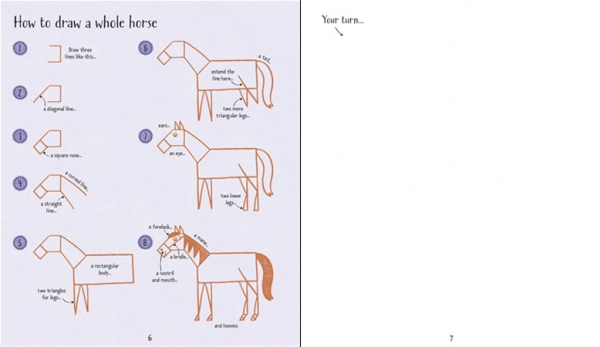 Step-by-Step Drawing Horses and Ponies 2
