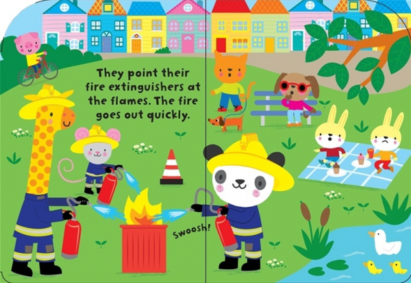 Baby's very first fire engine book 1