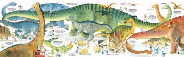 Big dinosaur sticker book 1