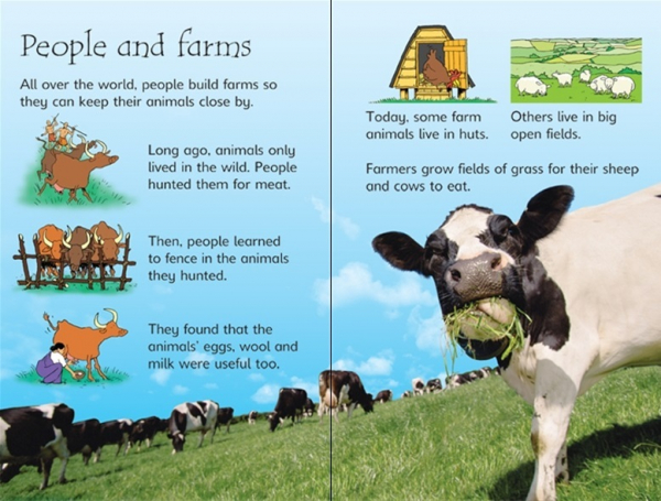 Farm Animals Usborne 1