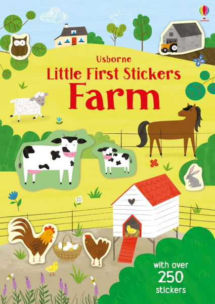Little First Sticker Farm 0