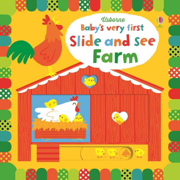 Slide and see farm Series: Baby's very first slide and see books 0