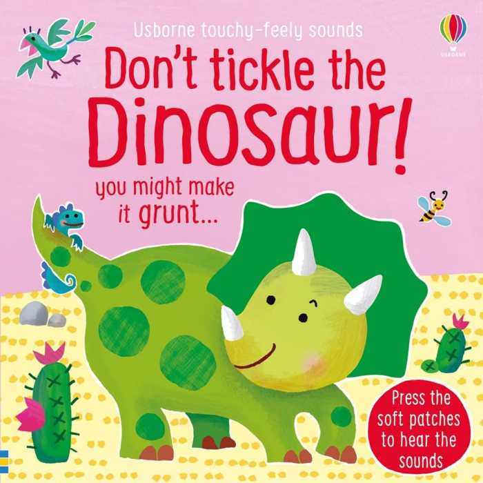 don`t tickle the dinosaur usborne 0