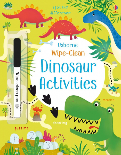Wipe-Clean Dinosaur Activities 0