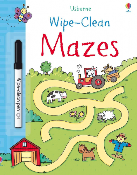 Wipe-clean mazes 0
