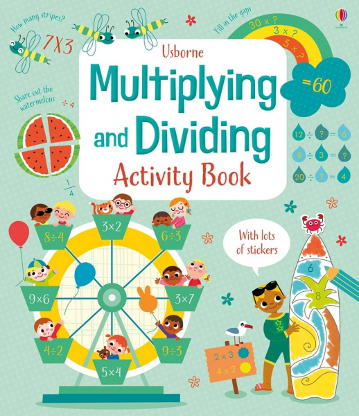 Multiplying and dividing activity book 0