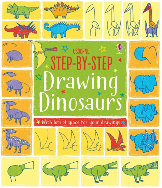 Step-by-step Drawing Book Dinosaurs 0