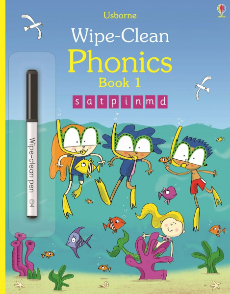 Wipe-clean Phonics Book 1 0