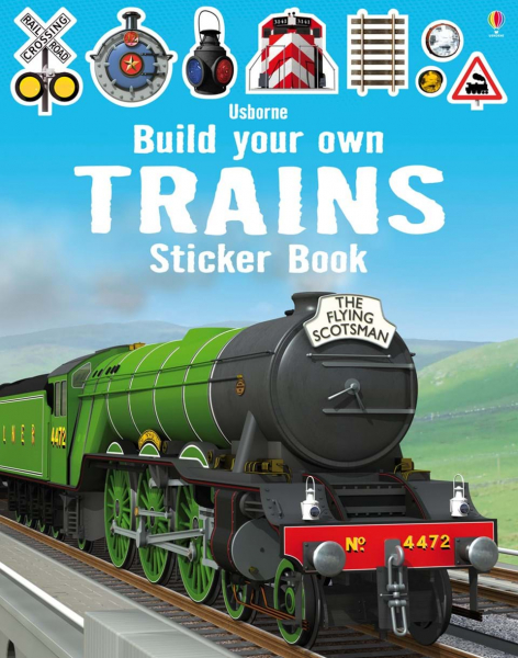 Build Your Own Trains Sticker Book 0