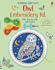 Embroidery Kit Owl 0