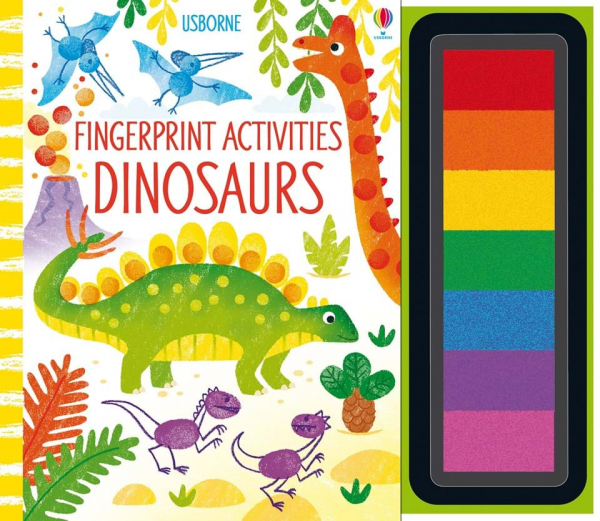 Fingerprint activities dinosaurs 0