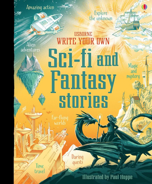 Write your own sci-fi and fantasy stories 0
