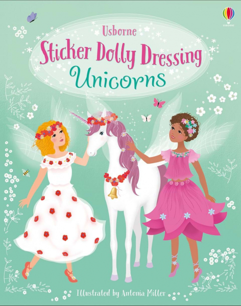 Sticker Dolly Dressing Unicorns 0