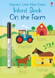 Little Wipe Clean Word Book On the Farm 0