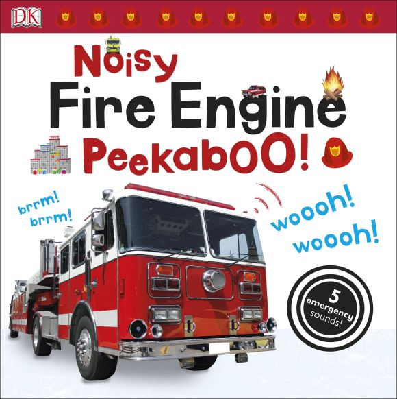 Noisy Fire Engine Peekaboo Sound Book 0