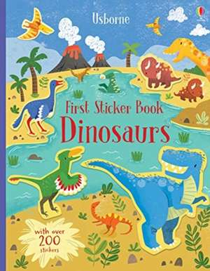 First Sticker Book Dinosaurs 0