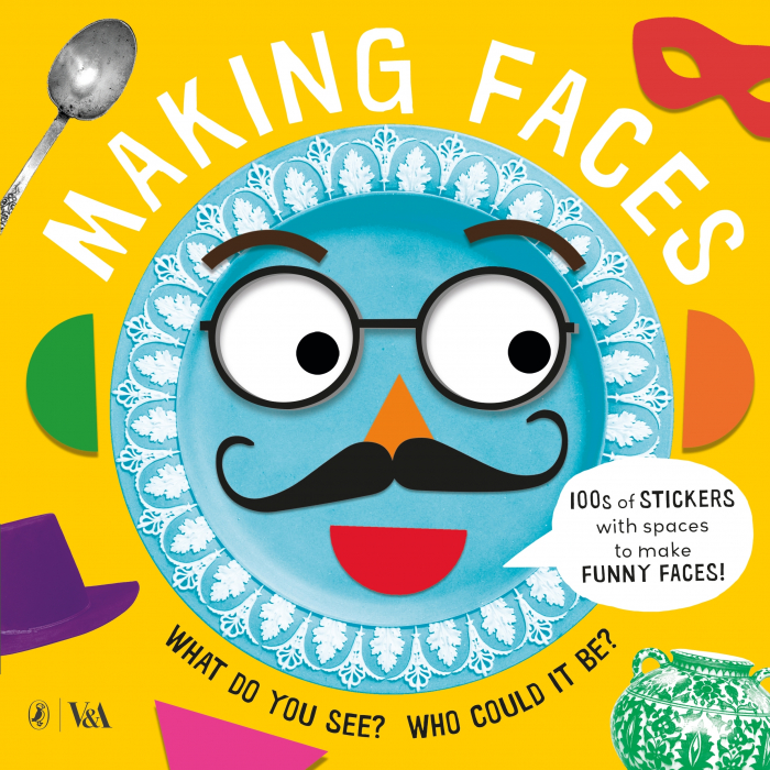 making faces sticker book penguin 0