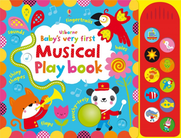 Baby's Very First touchy-feely Musical Playbook 0