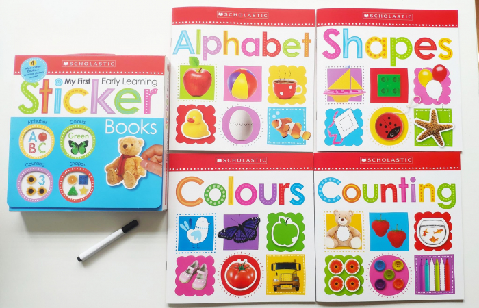 My First Early Learning Sticker Books Box Set: Scholastic Early Learners (Sticker Book) 0
