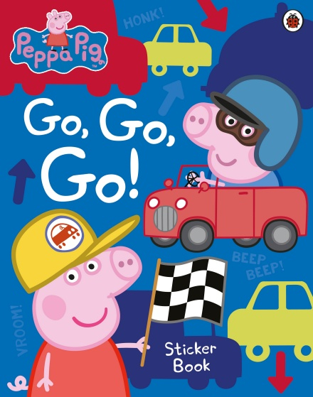 Peppa Pig Go Go Go Ladybird Sticker Book 0