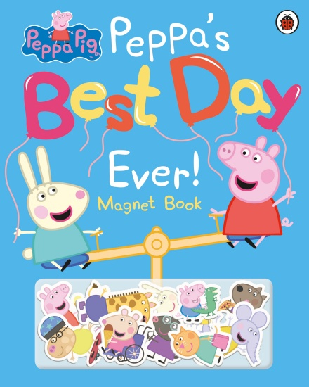Peppa's Best Day Ever magnet book 0