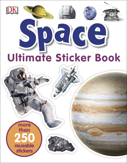 Space Ultimate Sticker Book 0