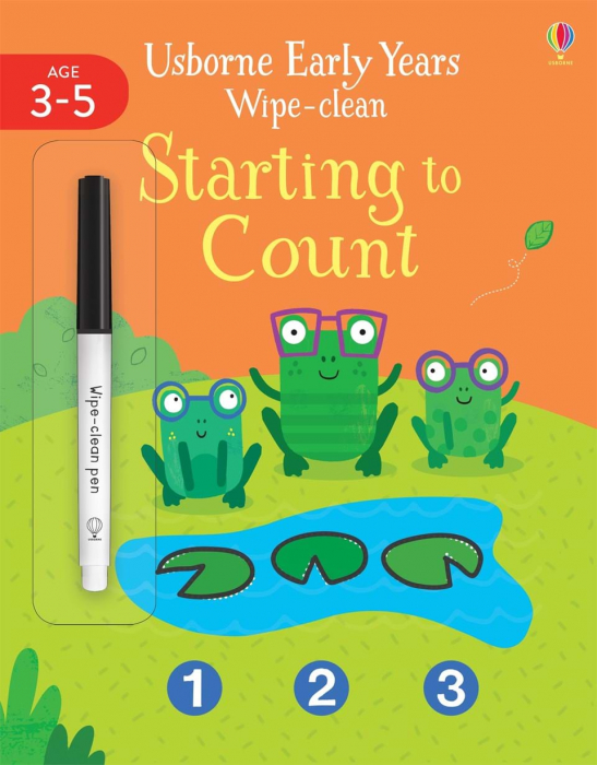 Starting to count wipe clean 0