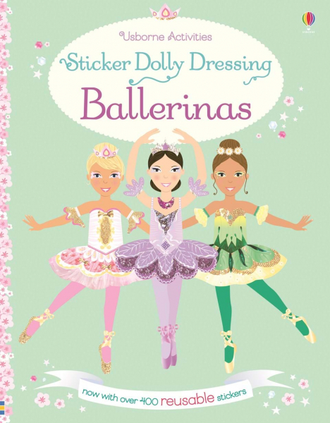 Sticker Dolly Dressing Ballerinas 0