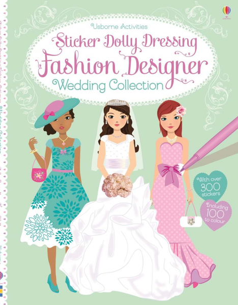Sticker Dolly Dressing Weddings 0