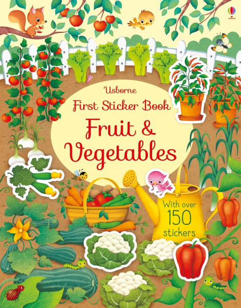 Usborne First Sticker Book Fruits and Vegetables 0