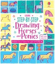 Step-by-Step Drawing Horses and Ponies0