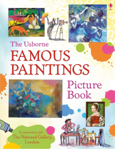 Famous Paintings Sticker Book0