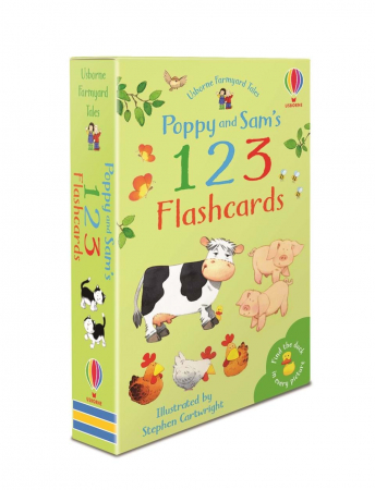 Poppy and Sam's 123 flashcards0