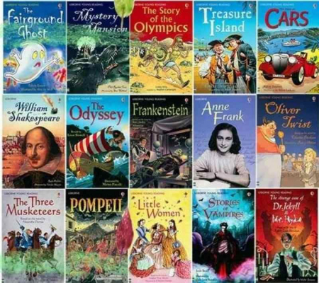 The Usborne Reading Collection for confident readers1