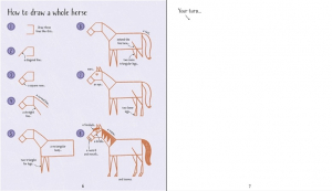 Step-by-Step Drawing Horses and Ponies2
