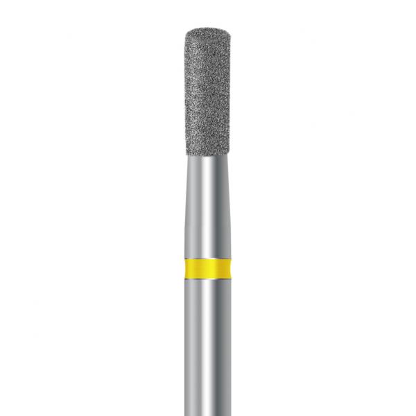 Diamond burs flat cylinder - Diametru 014 - Super fine 0