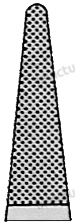 4073 - Port-ac drept cu carbura de tungsten MATHIEU 4-0 - 6-0  - 17 cm [1]