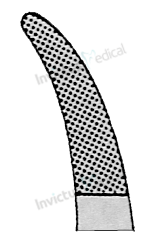 4333 - Port-ac angulat cu carbura de tungsten 4-0 - 6-0 MATHIEU - 17 cm 1