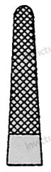 4537 - Port-ac drept cu carbura de tungsten 3-0 - 5-0 MAYO-HEGAR - 18 cm 1