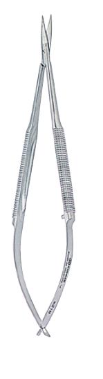 4873 - Micro foarfece angulata CASTROVIEJO - 15 cm [0]