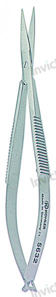 4035 - Micro foarfece angulata CASTROVIEJO - 11,5 cm [0]