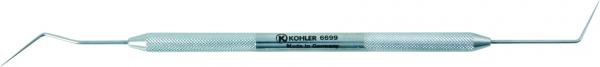 6699 - Sonda cu parte activa dubla, maner rotund DG 16 ENDO-EXPLORER [0]