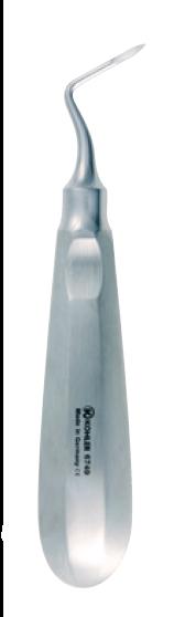 6749 - Elevator de radacini si fragmente radiculare angulat, stanga HEIDBRINK 0